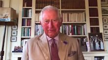 The Prince of Wales says Australians are made of 'tough stuff' in supportive message