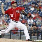 Nationals' Scherzer placed on disabled list with sore neck