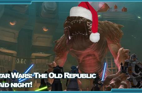 The Stream Team: SWTOR raiding during the holidays