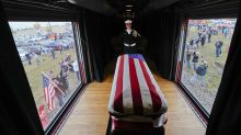 PHOTOS: Texas funeral held for former President George H.W. Bush