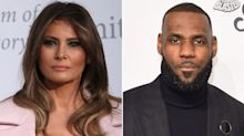 Melania Trump Sends Support to LeBron James Amid Feud with President Trump