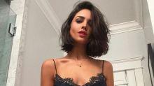 """Eiza González le dice """"adiós"""" a su larga cabellera; mira su nuevo look"""