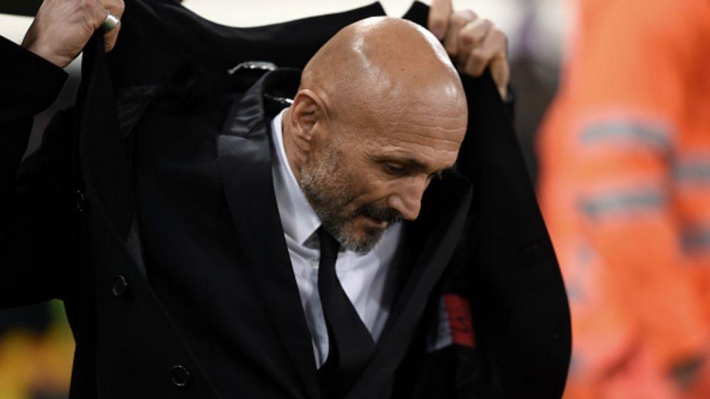 """AS Roma, Spalletti : """"On a vu des joueurs se rouler par terre"""""""