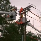 More than a million without power along East Coast after tropical storm
