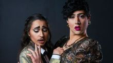 Sequins, spoofs and salaciousness: meet drag king and queen improv duo Dragprov