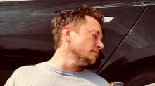 Elon Musk anuncia la 'bancarrota' de Tesla con esta foto