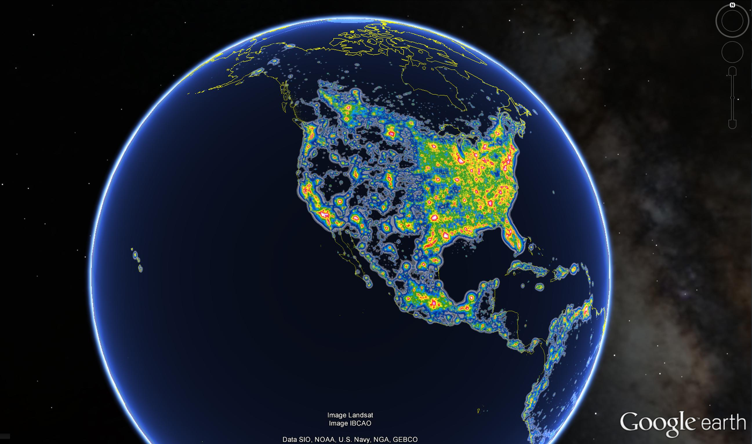 Light Pollution Ruins Night-Sky Views for One-Third of Humanity