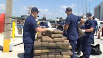 Coast Guard unloads $3 million in cocaine and marijuana