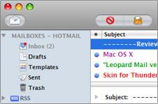 Make Thunderbird resemble Leopard Mail