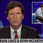 Fox News' Tucker Carlson is on the warpath against House Minority Leader Kevin McCarthy