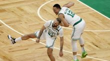 Ex- Orlando teammate Nikola Vucevic talks Evan Fournier's fit with the Boston Celtics