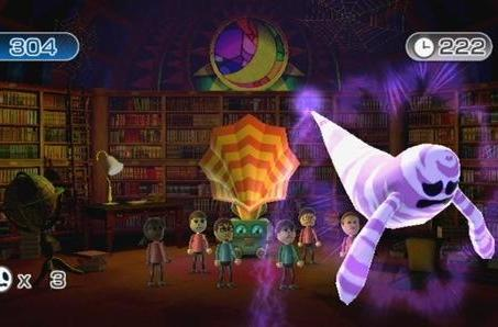 Wii Play: Motion has stone skipping, ghost hunting