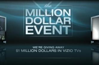 Vizio Super Bowl ad kicks off million dollar 55-inch LCD giveaway