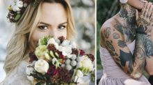 Bride's drastic act to remove X-rated detail from wedding snaps