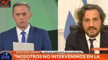 Fuerte cruce entre Santiago Cafiero y dos periodistas de TN, por la situación judicial de Cristina Kirchner