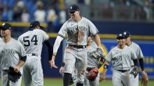 Judge hits tiebreaking single in 10th, Yankees beat Rays 3-1