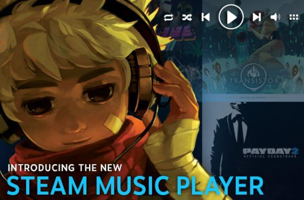Steam Music Player available for all