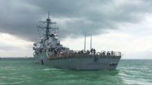 U.S. Navy announces fleet-wide probe after new warship collision; 10 sailors missing