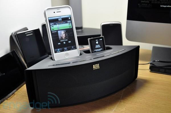 Altec Lansing Octiv Duo (202) speaker dock review