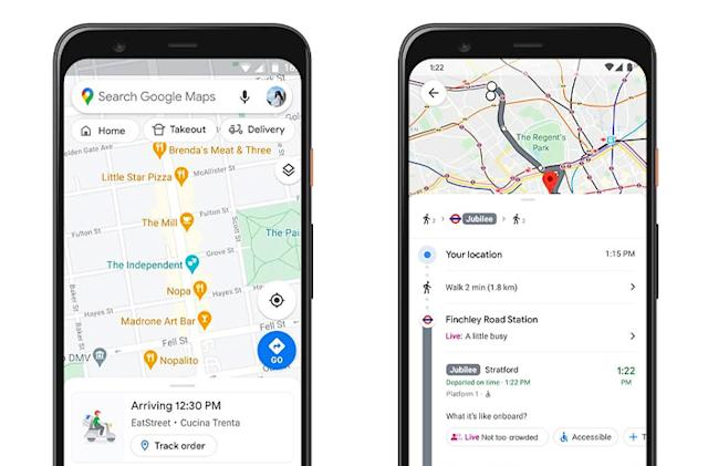 Google Maps no longer has to guess how crowded your transit line is