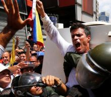 Venezuela opposition figure Leopoldo López leaves Spanish embassy