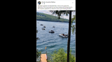 Small plane plummets and sinks into New Hampshire lake as boaters watch