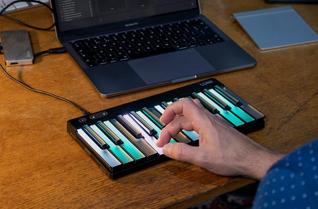 Roli's pro Lumi marries keyboard tradition with expressive MIDI features