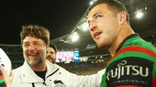 Sam Burgess' relationship with Russell Crowe reportedly 'fractured'