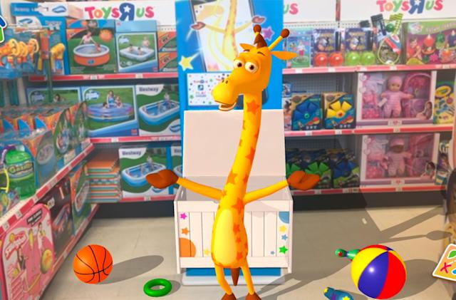 Toys 'R' Us hopes AR will bring you back to its stores