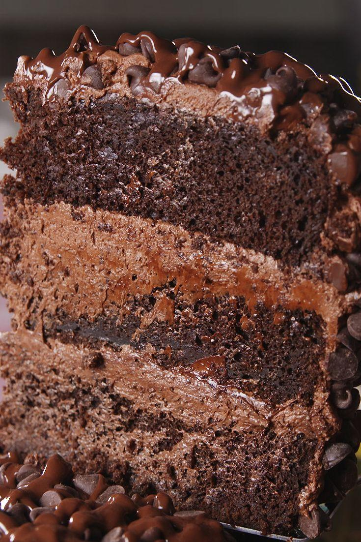 """<p>Brb, dying.</p><p>Get the recipe from <a href=""""https://www.delish.com/cooking/recipe-ideas/recipes/a54546/death-by-chocolate-cake-recipe/"""" rel=""""nofollow noopener"""" target=""""_blank"""" data-ylk=""""slk:Delish"""" class=""""link rapid-noclick-resp"""">Delish</a>.</p><p><strong><a class=""""link rapid-noclick-resp"""" href=""""https://www.amazon.com/gp/product/B00007IT2R?tag=syn-yahoo-20&ascsubtag=%5Bartid%7C1782.g.1779%5Bsrc%7Cyahoo-us"""" rel=""""nofollow noopener"""" target=""""_blank"""" data-ylk=""""slk:BUY NOW"""">BUY NOW</a><em> Matte Black KitchenAid Mixer, $279, amazon.com</em></strong></p>"""
