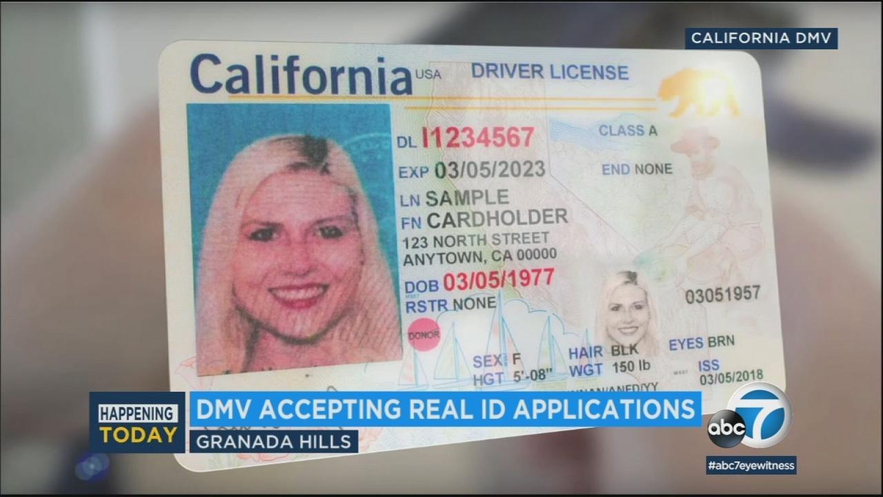 Applications Accept Begins Dmv video Id Real To