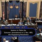 Both sides debate amendments to impeachment trial rules