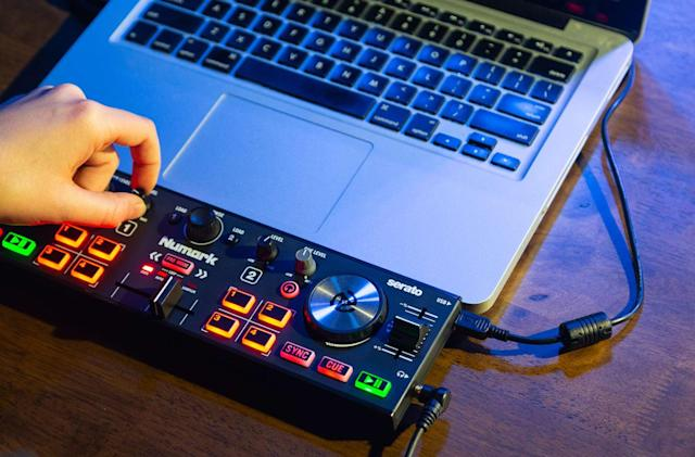 Numark's DJ2GO2 Touch is made for aspiring DJs