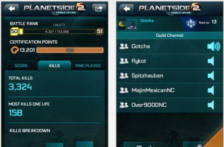 Sony releases a PlanetSide 2 app for iOS