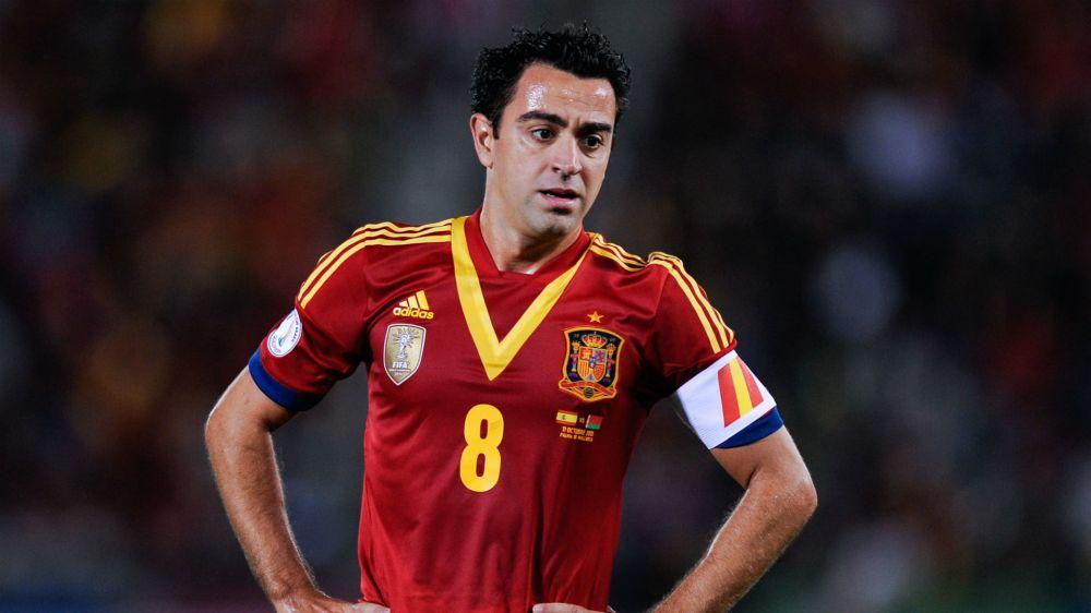 """Xavi: """"Cruyff es la persona más importante en la historia de la selección española"""""""