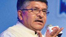 Aadhaar database can't be hacked even after a billion attempts, says Union Minister Ravi Shankar Prasad