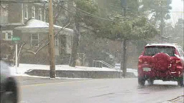 Pennsylvania gets light coating of March snow