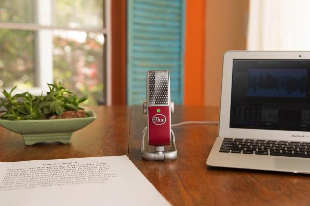 Blue's new microphone is a compact option for recording on the go