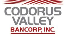 Codorus Valley Bancorp, Inc.Reports First Quarter 2021 Earnings