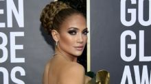 Golden Globes 2020: Jennifer Lopez Owns The Red Carpet In A Braided Bun