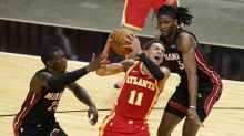 Heat top Hawks for 6th straight win, get back to .500