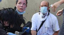 La cantante Halsey cura heridos en las protestas antirracistas de L.A.