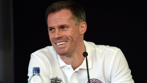 Liverpool Legend Carragher Responds to Anfield Tweet by Taking Latest Dig at El-Hadji Diouf