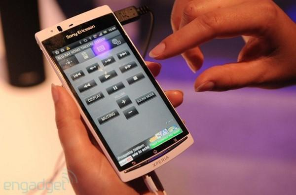 Sony Ericsson Xperia Arc S hands-on (video)