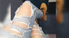 Grandmothers react to ripped jeans: 'Disgusting' and 'a proper disgrace'