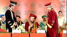 My mother would've been happy as I'm getting this honour in Hyderabad - SRK on receiving Doctorate