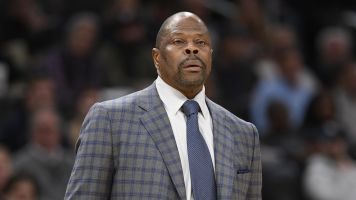 Ewing out of hospital after coronavirus diagnosis