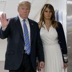President Trump meets shooting victims at Florida hospital