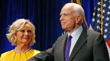 John McCain's wife posts 'Throwback Thursday' photos following brain tumor diagnosis