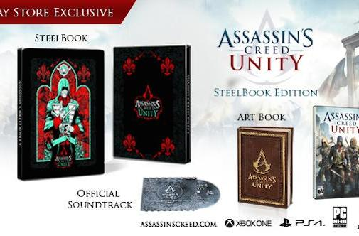 Assassin's Creed Unity Steelbook Edition only on Uplay